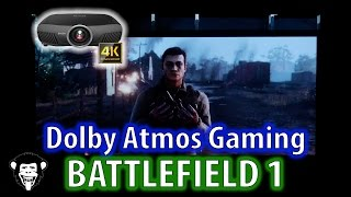 Battlefield 1 Dolby Atmos 4K Gaming Projector