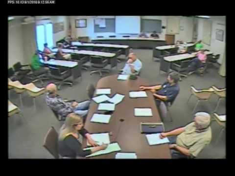 9-1-2016 Policy & Procedure Committee Meeting