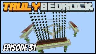 Hostile Mob Farm! - Truly Bedrock (Minecraft Survival Let's Play) Episode 31