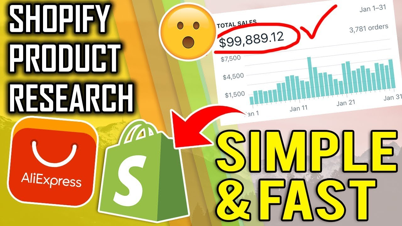 INSANE Product Research Method 2019 | Best Selling Shopify Aliexpress Dropshipping Products