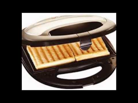 grill toaster and snack maker
