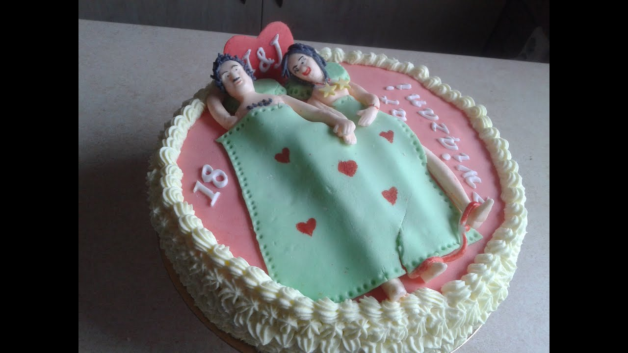 How To Make Wedding Anniversary Funny Cake Śmieszny
