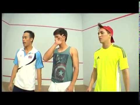 Sport Zabb แซ่บไมค์ ภัทรเดช สควอช(Squash)