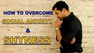 How to OVERCOME SOCIAL ANXIETY and SHYNESS || 3 AWESOME TIPS #socialanxiety