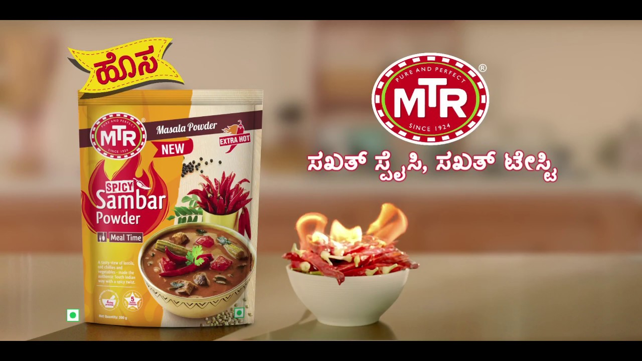 MTR Foods releases TVC for its new Sambar variant in the South