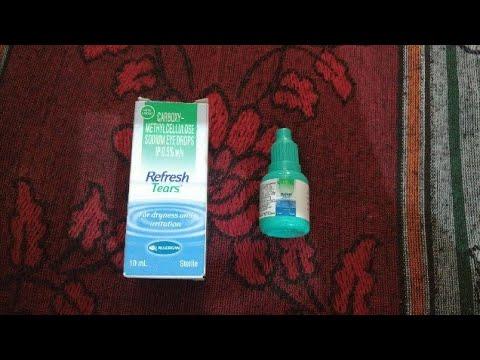Refresh tears Eye Drop Review [HINDI]