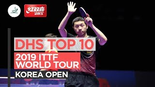 Top 10 points | Korea Open 2019
