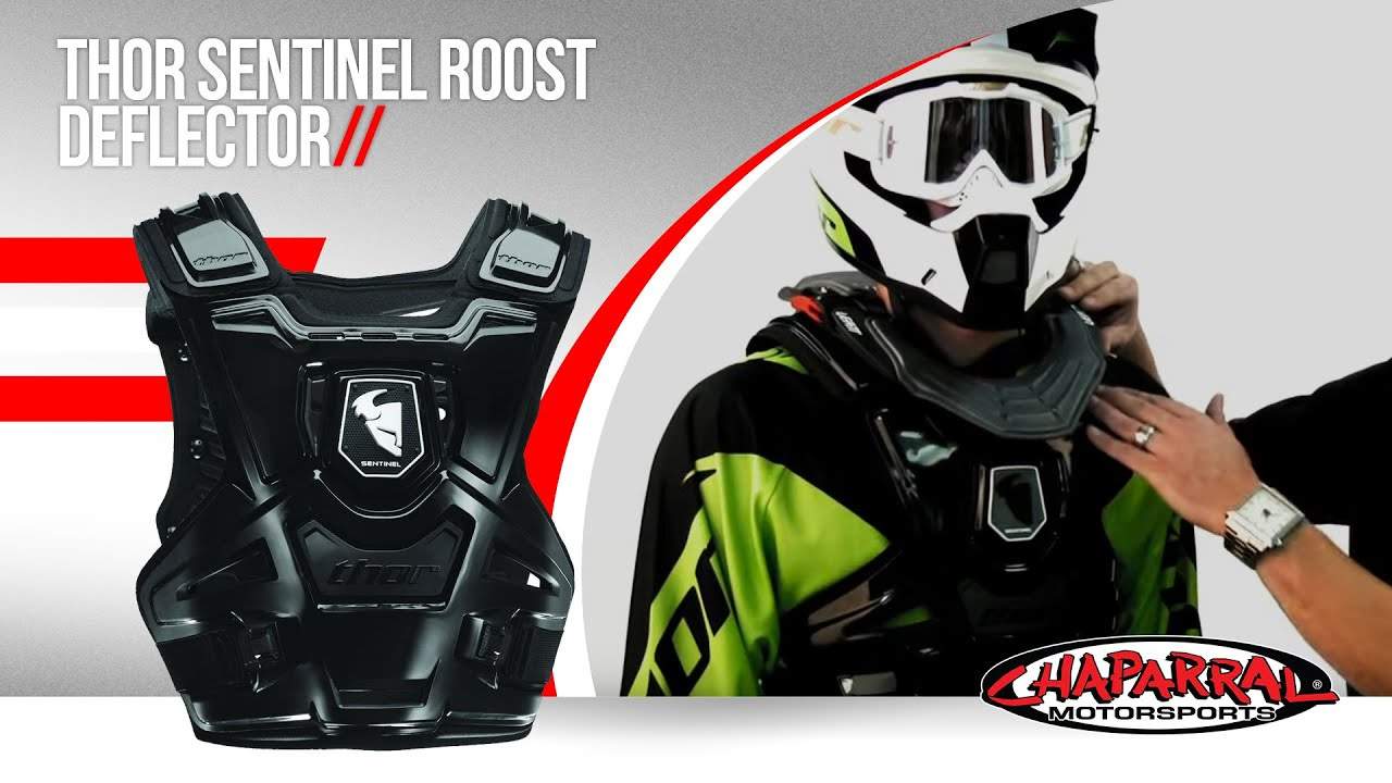 Thor Sentinel XP Motorcycle Roost Deflector Review - YouTube
