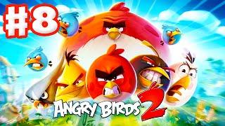 Angry Birds 2 - Gameplay Walkthrough Part 8 - Levels 56-60! 3 Stars! Eggchanted Woods!