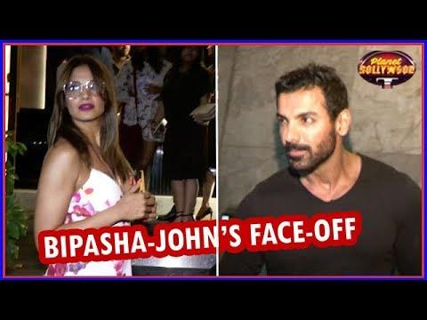 Bipasha Basu  John Abraham Give Each Other A Cold Shoulder  Bollywood