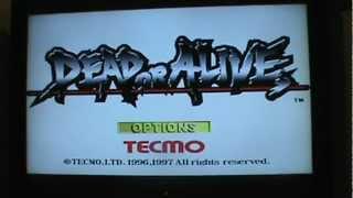 Dead or Alive Sega Saturn review - Brutally Honest Gamer