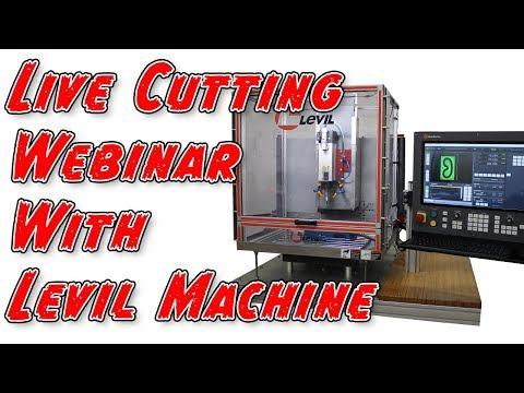 Live Cutting On The Levil Machine