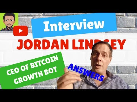 INTERVIEW WITH JORDAN LINDSEY: BitcoinGrowthBot's CEO answers || Montana Christmas' Special