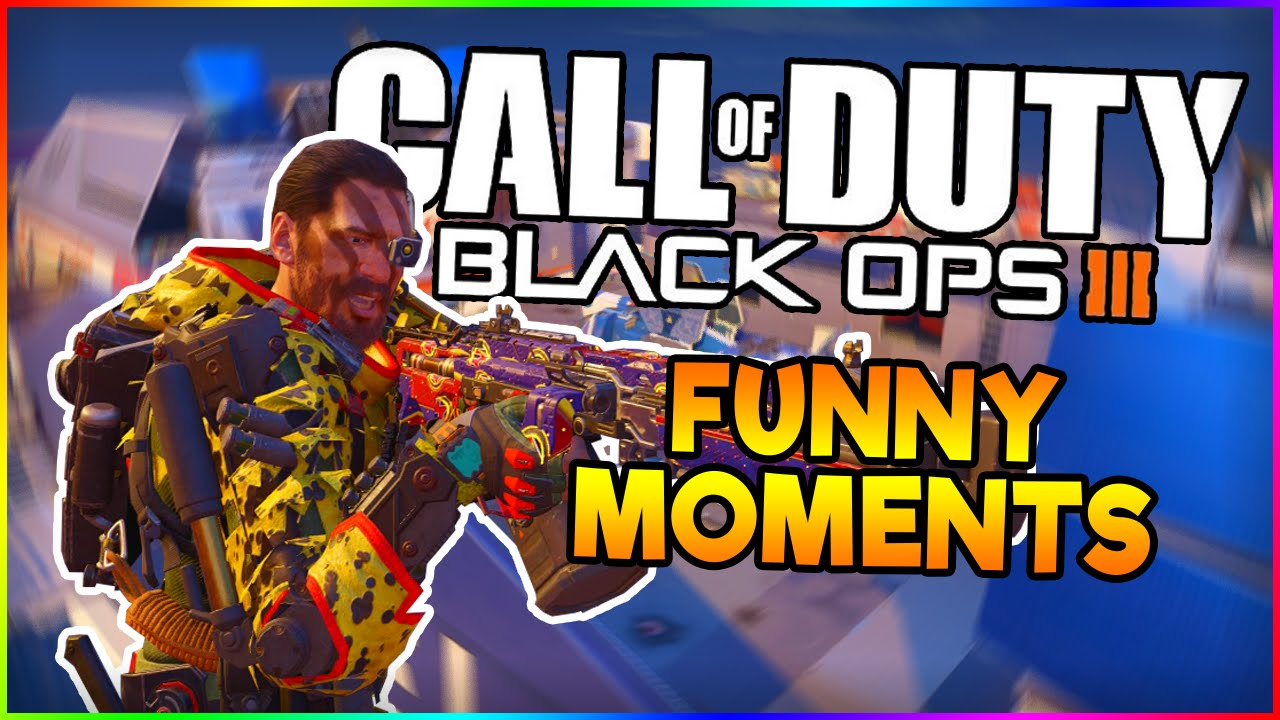 Black Ops 3 Rage Funny Moments Youtube - Www imagez co