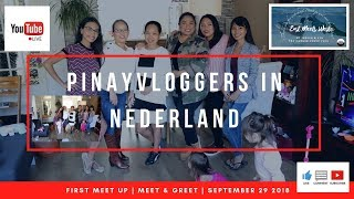 FIRST LIVESTREAM with PINAYVLOGGERS IN NEDERLAND | MEET & GREET