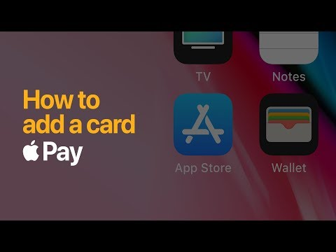 Download Youtube: Apple Pay — How to add a card on iPhone — Apple