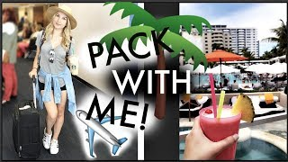 PACK WITH ME FOR VACATION! | SOUTH BEACH, MIAMI!