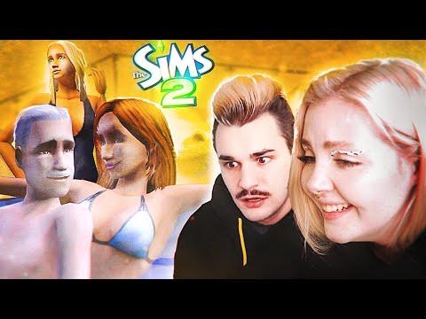 Играем с Юликом в Sims 2 I Беременность