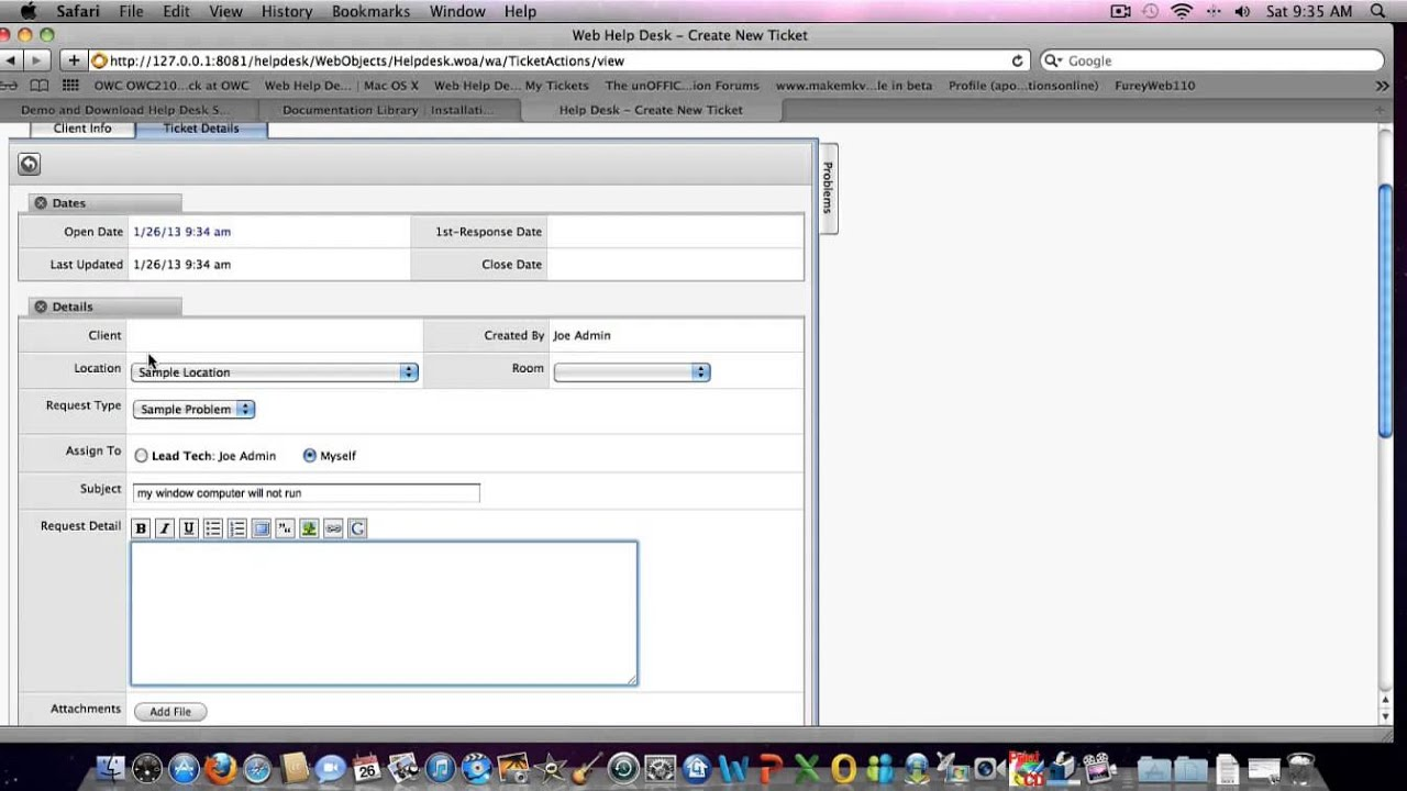 How To Install Web Help Desk Software Video 1 Of 6