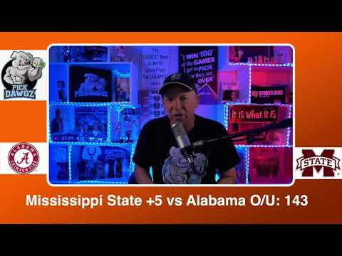 Mississippi State vs Alabama 2/27/21 Free College Basketball Pick and Prediction CBB Betting Tips