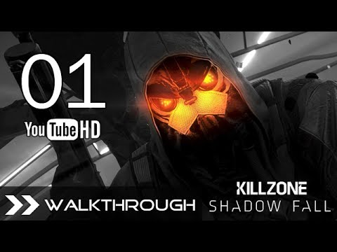 Killzone Shadow Fall Walkthrough - Gameplay Campaign Part 1 (Chapter 1 - Mission 1 - The Father) HD 1080p PS4 No Commentary