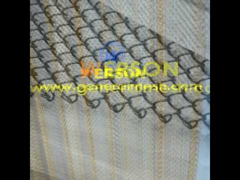 Fireplace Wire Mesh Curtain, Stainless Steel Fireplace Mesh Screen, Fireplace  Screen