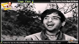 HitsForever KAHAN HO TUM KO DHOOND RAHI HAI(HD SONG)... Chakori 1967