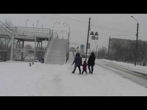 ObriIzyum: В Ізюм нарешті прийшла зима
