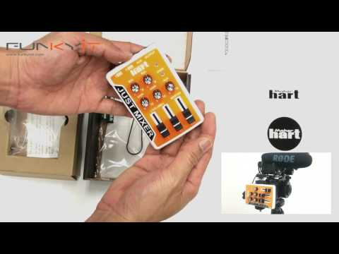Maker Hart Just Mixer – Battery/USB Powered Portable Mixer