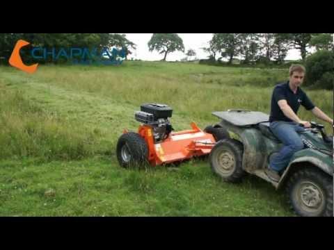 FM120 ATV Flail Mower Shredder - Chapman Machinery