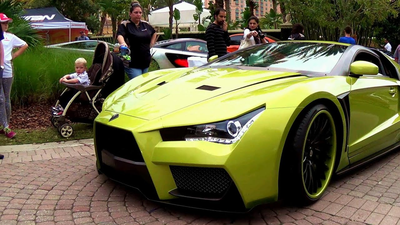 Supercar Concept Vaydor Infiniti G35 Exotic Electric