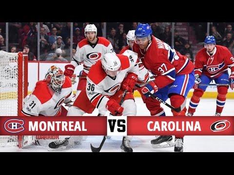 Montreal Canadiens vs Carolina Hurricanes | Season Game 74 | Highlihts (23/3/2017)