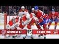 Montreal Canadiens vs Carolina Hurricanes   Season Game 74   Highlihts (23/3/2017)