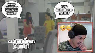 Manang nagalit sa Cash on delivery na hindi niya daw order /we will miss you manang