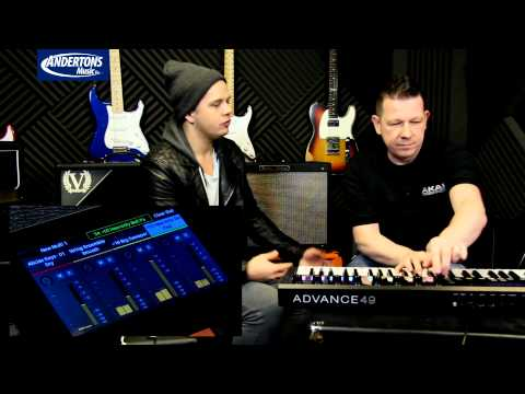 AKAI ADVANCE - The most ADVANCEd Controller Keyboard on the market.