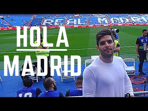 HOLA MADRID | Real Madrid - Villarreal | Rutina Hombro y Brazo