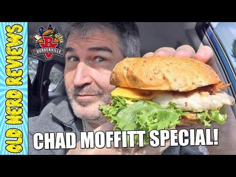 CHAD MOFFITT SPECIAL: Burgerville Chicken Deluxe/Apple Spice Milkshake REVIEWS 🐔🍔🍎