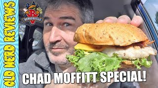CHAD MOFFITT SPECIAL: Burgerville Chicken Deluxe/Apple Spice Milk Shake REVIEWS 🐔🍔🍎