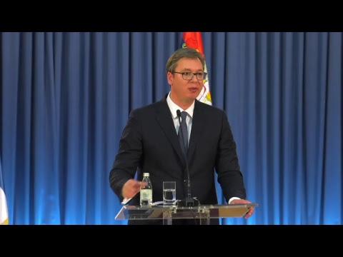 KURIR TV: Vanredno obraćanje Aleksandra Vučića