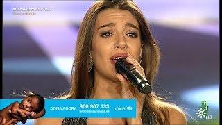 Ana Guerra ~ Ni La Hora (Gala Unicef, Canal Sur) (Live) 2018 HD 4K