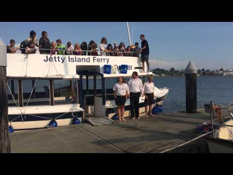 Jetty Island Ferry Crew Ice Bucket Challenge