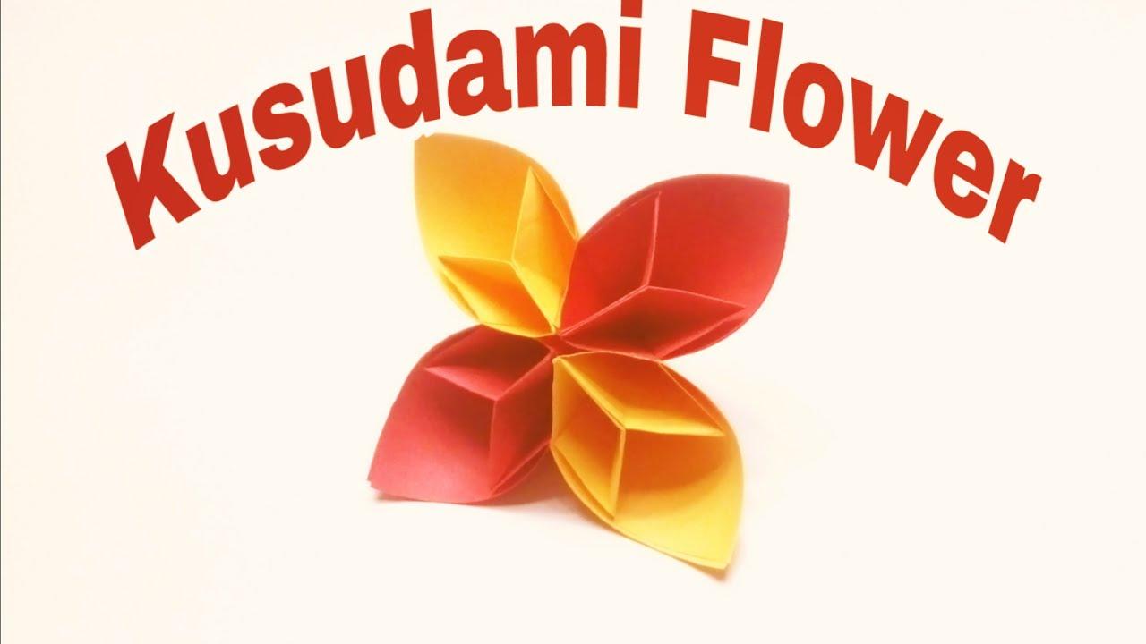 Easy Origami Kusudama Flower Origami Kusudama Flower Easy Paper