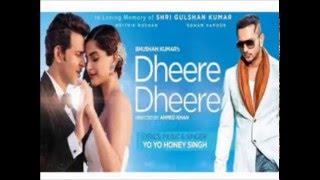 Dheere Dheere Se - Honey Singh (Karaoke)