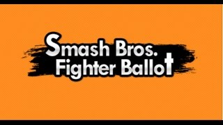 Super Smash Bros. Ballot results LEAKED