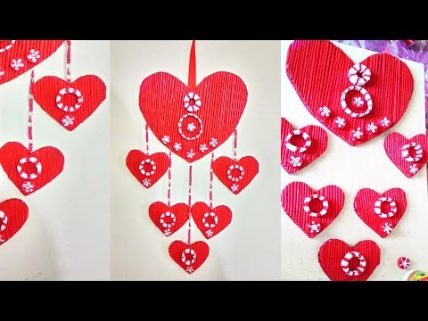 Newspaper Wall Hanging -- Newspaper crafts - 동영상