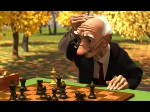 Solitaria partida de ajedrez youtube - Imagenes de animacion ...