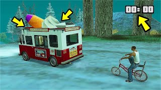 What Happens If You Follow Ice Cream Van In GTA San Andreas? (You Won'T Believe What They Does!)