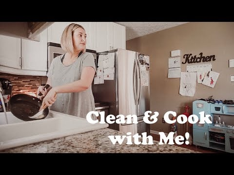 CLEAN AND COOK WITH ME | SPEED CLEANING TO GET YOU MOTIVATED!