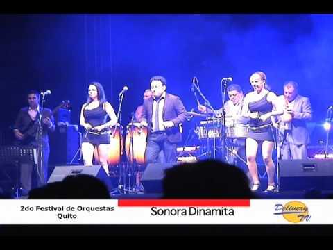Concierto de Sonora Dinamita - Coliseo Rumiñahui - Quito