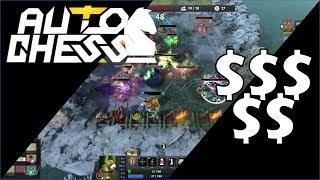 Dota Auto Chess - Economy & $$$$$ - Game 6